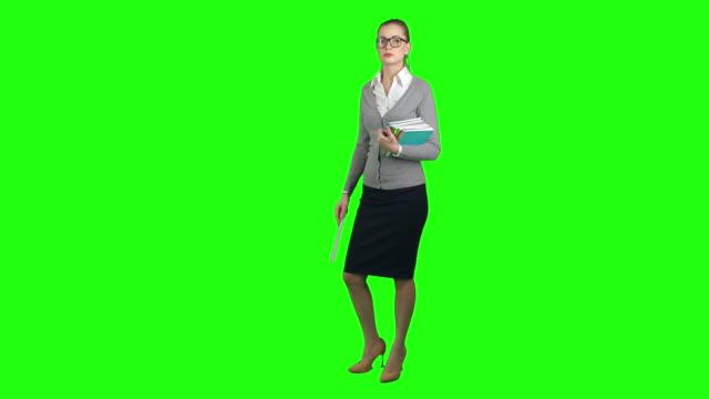 Young School Teacher video