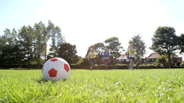Young Soccer Players video