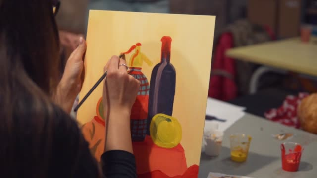 203 Wine Painting Stock Videos and Royalty-Free Footage - iStock