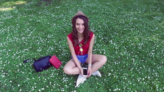 Young woman enjoying the weekend