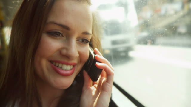 HD: Young Woman On The Phone video