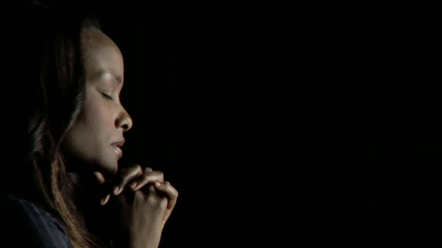 HD Young Woman Praying video