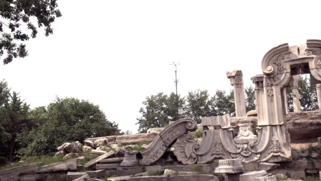 Yuanmingyuan, Old Summer Palace in Beijing, China video