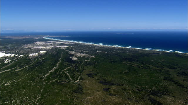 Yzerfontein And Dassen Island  - Aerial View - Western Cape,  South Africa video