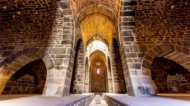 zazadin han, konya, turkey - medieval architecture stock videos & royalty-free footage