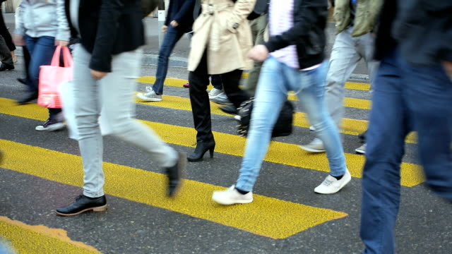 Zebra crossing Zurich video