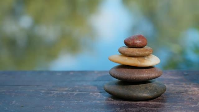 zen of life, zen stone - wellness filmów i materiałów b-roll