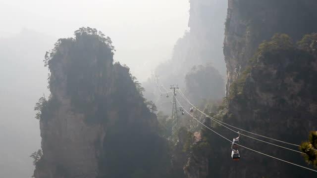 HD: Zhangjiajie National Forest Park China video