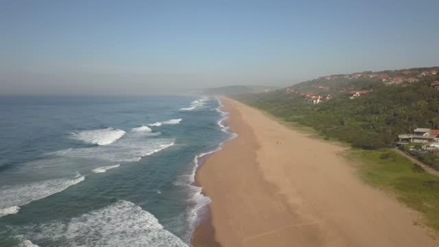 ジンバリ海岸エステート、バリト、クワズール・ナタール、南アフリカ - 南アフリカ共和国点の映像素材/bロール