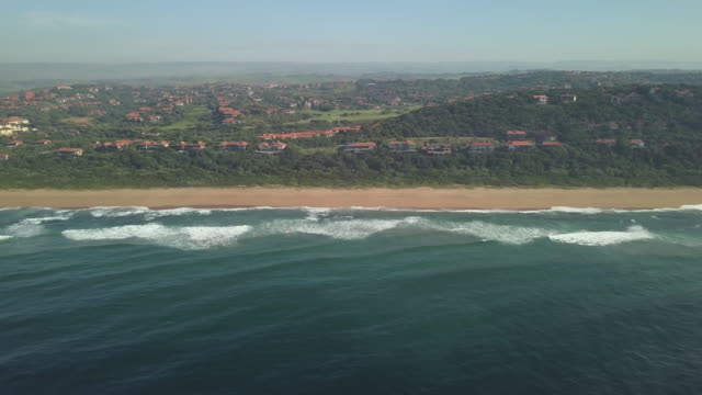 Zimbali Coastal Estate, Ballito, Kwazulu Natal, South Africa Aerial footage of the beautiful coastline of Kwazulu Natal, South Africa natal stock videos & royalty-free footage
