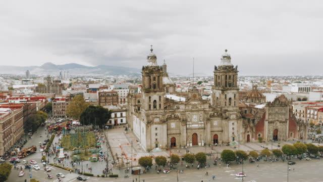 Zocalo-Platz in Mexiko-Stadt – Video