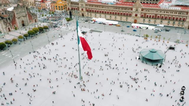 Zocalo Square in Mexico City