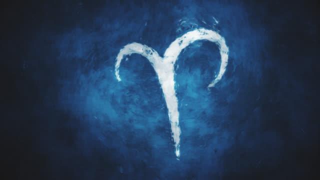 Zodiac sign Aries video