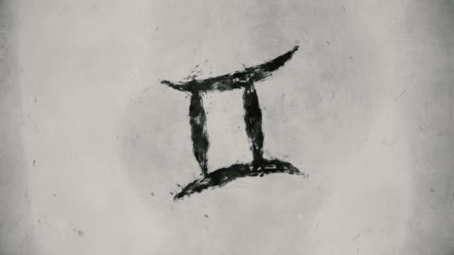 Zodiac sign Gemini video