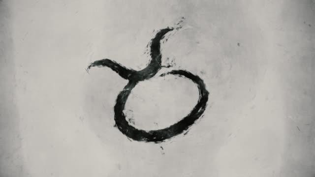 Zodiac sign Taurus video