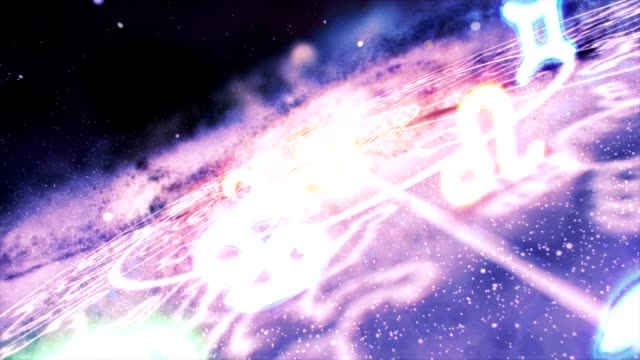 Zodiac Signs Space Galaxy video