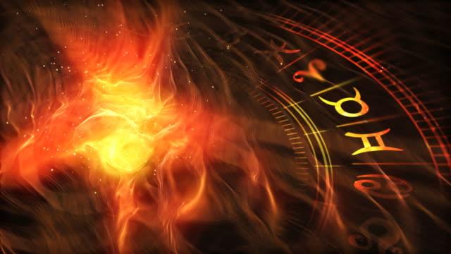 Zodiac Wheel (warm version) video