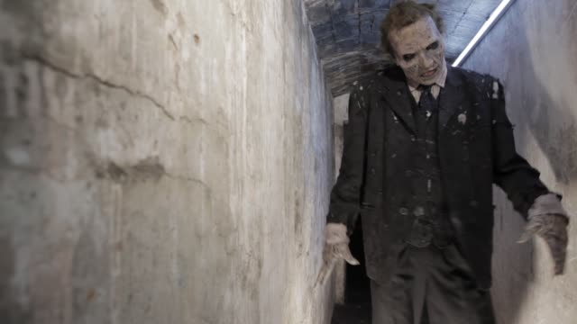 vídeos de stock e filmes b-roll de zombie - apocalipse