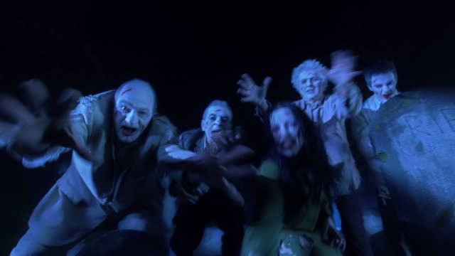 HD DOLLY: Zombies, wenn für menschliche Auge – Video