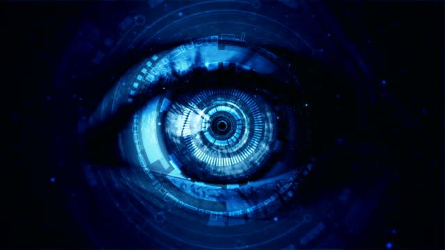 4 k が地球を通して目にズームアウトします。 - 地球のビデオ点の映像素材/bロール