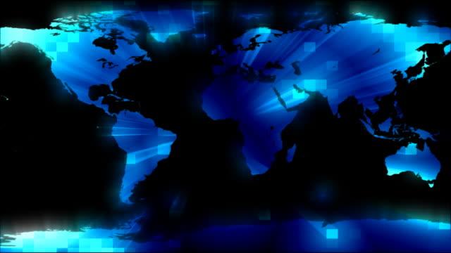 zoom out world hd ntsc - ekvatorn latitud bildbanksvideor och videomaterial från bakom kulisserna