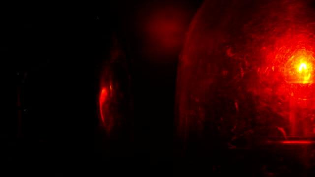 Zoom: Red Blue Emergency Vehicle Lighting video