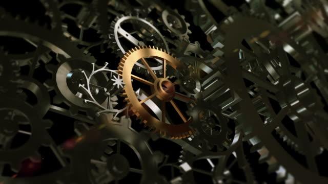 vidéos et rushes de zoom gold équipement de musculation - rouage mécanisme