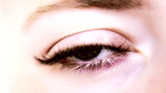 zoom to sun throuh eye video