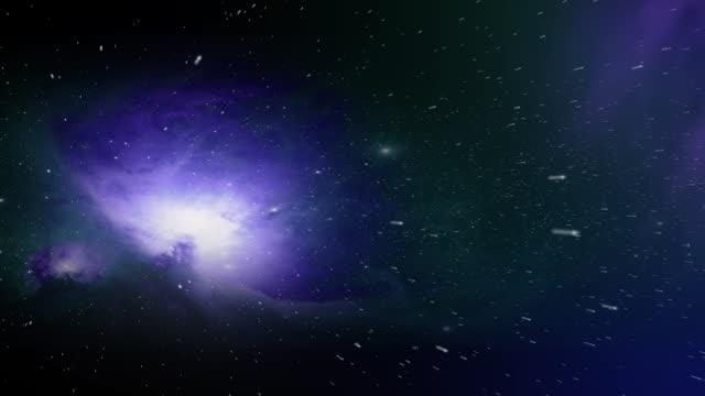 zooma in blå nebulosa i rymden - nightsky bildbanksvideor och videomaterial från bakom kulisserna