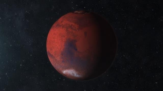 zooma till mars red planet i rymden - mars bildbanksvideor och videomaterial från bakom kulisserna